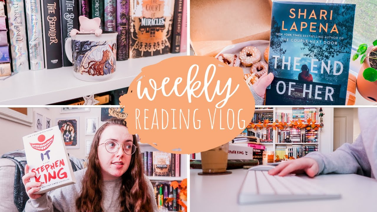 Download Scary Books, A Thriller, + An Illumicrate Unboxing | WEEKLY READING VLOG