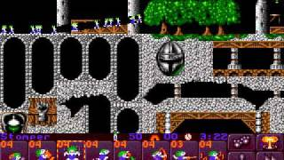 Mega Drive Longplay [103] Lemmings 2: The Tribes (Part 1 of 2)
