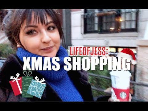 Life of Jess | Christmas Shopping, H&M Haul