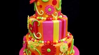 видео торт на день рождения недорого