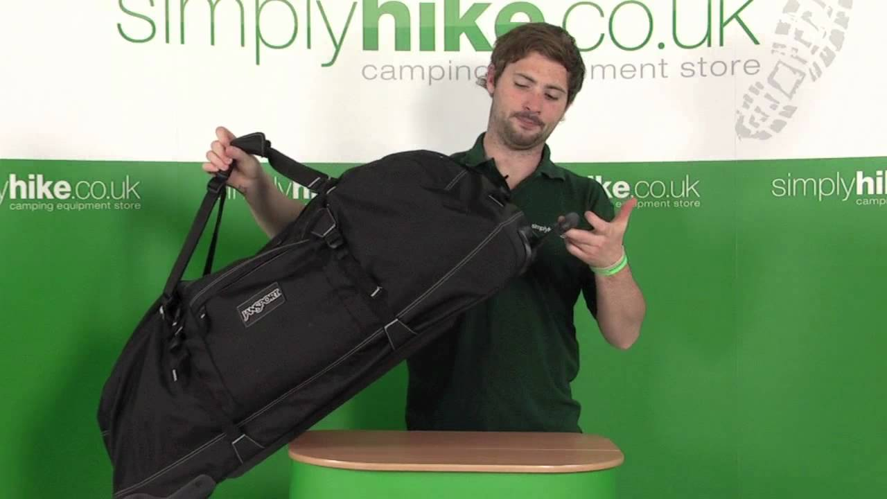 Jansport Wheeled Dufflepack 131L - www.simplyhike.co.uk - YouTube 23b67a850d72d