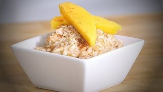 Coconut Mango Sticky Rice Pudding Recipe | Ingrid Dishes