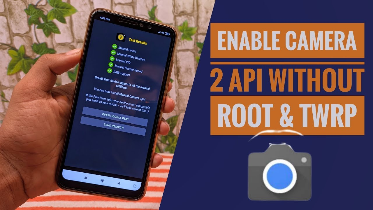HOW TO ENABLE CAMERA2API WITHOUT ROOT & TWRP | REDMI NOTE 6 PRO I NEW🔥