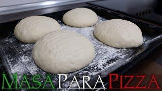 masa maternity pizza pie casera swindle harina leudante y levadura