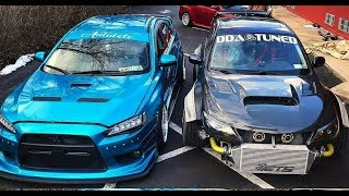 MITSUBISHI EVO VS SUBARU IMPREZA The Ultimate Sound Compilation