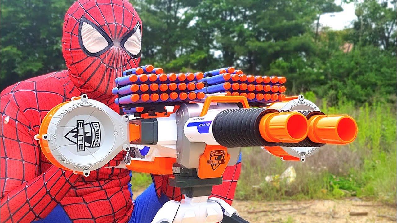 Spider Man Nerf War (Nerf Gun)