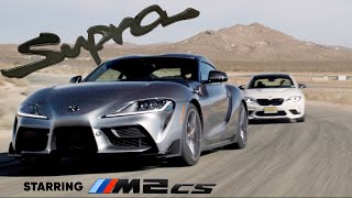 2021 Toyota Supra meets the BMW M2 CS: the Mk4's real successor | Jason Cammisa on the Icons Ep. 01