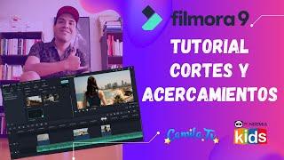 Tutorial Filmora Cortes y Acercamientos | Taller de Youtuber Kids | Pandemia Kids