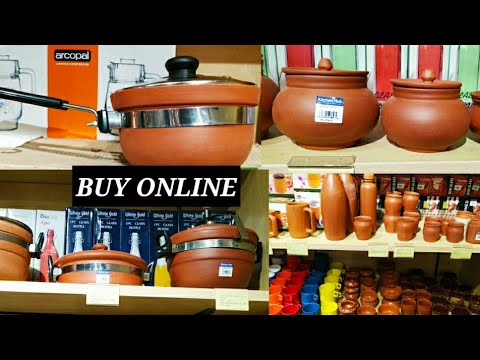Latest Clay Cookware collection|Clay Pressure Cooker|Clay ...