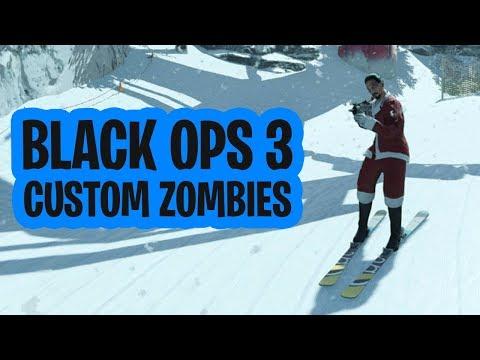 SKIËN IN HET KERSTMIS-RESORT! (COD: Black Ops 3 Custom Zombies)