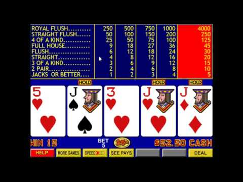 Video Poker Part 1 - Jacks or Better