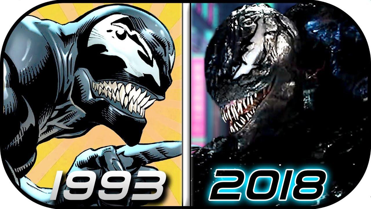 EVOLUTION of RIOT Symbiote in Movies Comics TV (1993-2018 ...
