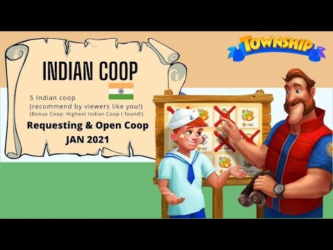 [JAN 2021] Township || Indian Coop - Suggested By You!