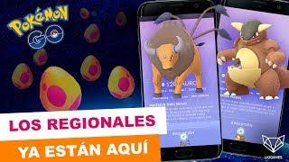 ABRIMOS UN MONTÓN DE HUEVOS REGIONALES CON MUCHAS SORPRESAS  - Pokemon Go [LioGames]