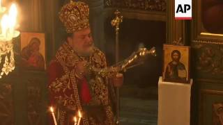 Gaza's Orthodox Christians celebrate Christmas
