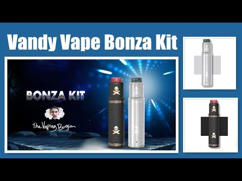 Newest Vandy Vape Bonza Kit-Compatible and Adopts Low Voltage Drop System  With Pure Copper丨VAPRORL
