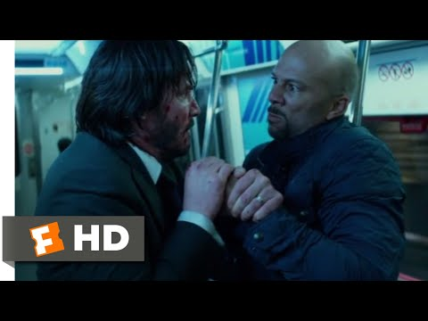 John Wick: Chapter 2 (2017) - Subway Fight Scene (7/10) | Movieclips
