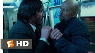 John Wick: Chapter 2 (2017) - Subway Fight Scene (7/10) | Movieclips