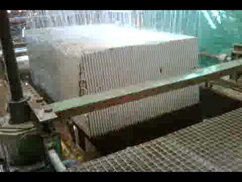 Serrado del granito en los telares doovi - Como cortar marmol encimera ...