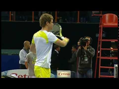 Marin Cilic vs Blaz Kavcic Zagreb ATP Tennis Open [Quarterfinal 08/02/13]