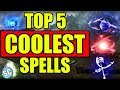 Top 5 Coolest Spells in Skyrim Special Edition
