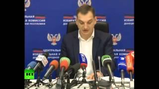 Захарченко победил на выборах главы ДНР