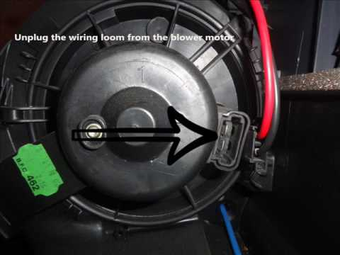 Citroen C4 Wiring Diagram Allen Bradley Motor Control Diagrams Xsara Picasso Heater Resistor Change - Youtube