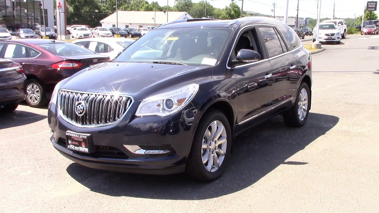 2016 Buick Enclave Premium In Depth Review And Start Up