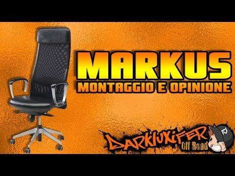 Sedia Da Ufficio Markus Youtube