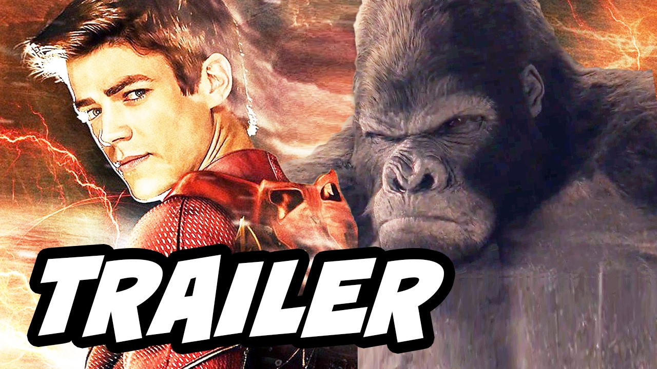 The Flash 3x13 Promo - The Flash Grodd and Zoom Black Flash Easter Eggs - YouTube