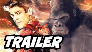 The Flash 3x13 Promo - The Flash Grodd and Zoom Black Flash Easter Eggs