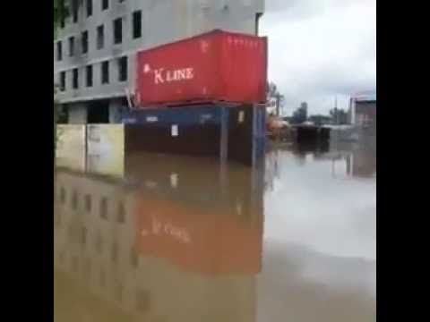 Затопленные улицы Уссурийска