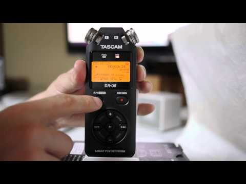 Tascam DR-05 Review With Audio Recording