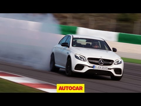 Hot new Mercedes-AMG E63 S tested. And drifted.
