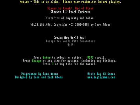 Dwarf Fortress - Menu Music