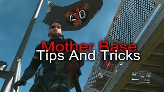 Metal Gear Solid 5: Mother Base Tips & Tricks