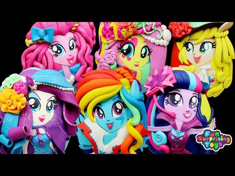 MY LITTLE PONY GIANT Surprise Eggs Compilation - Rarity Rainbow Dash Twilight Sparkle Pinkie Pie