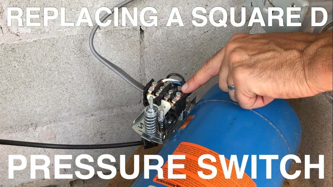 hight resolution of replacing a square d pressure switch