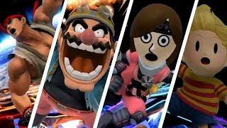 Super Smash Bros. (Wii U) - All Screen KOs (DLC Included)