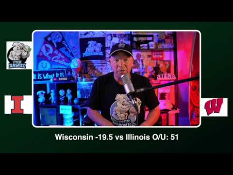 Wisconsin vs Illinois Free College Football Picks and Predictions CFB Tips Friday 10/23/20