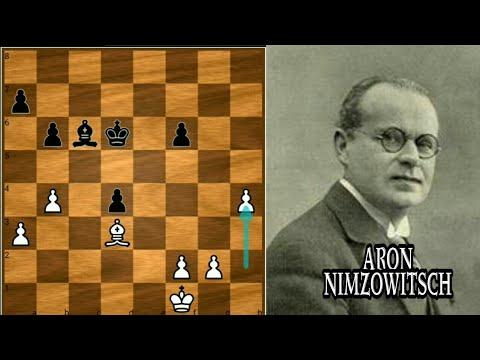 Aron Nimzowitsch's Overprotection Racket - Nimzowitsch vs Salwe