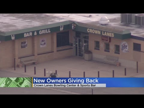 Crown Lanes Bowling Center Gives Back