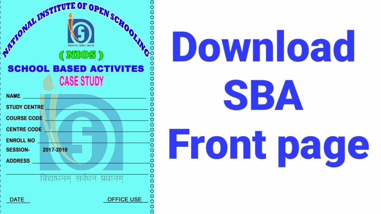 sba front page download youtube