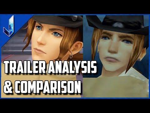 Final Fantasy VIII Remastered - E3 Trailer Analysis & Comparison