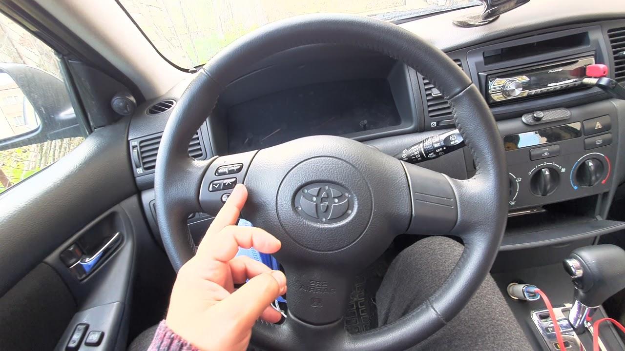 2006 corolla Direksiyon ve Airbag sökme Terra araca Direksiyon kumandası ekleme Part 1