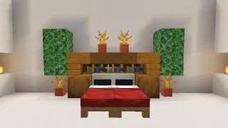 Desain Kamar Modern di Minecraft #Short