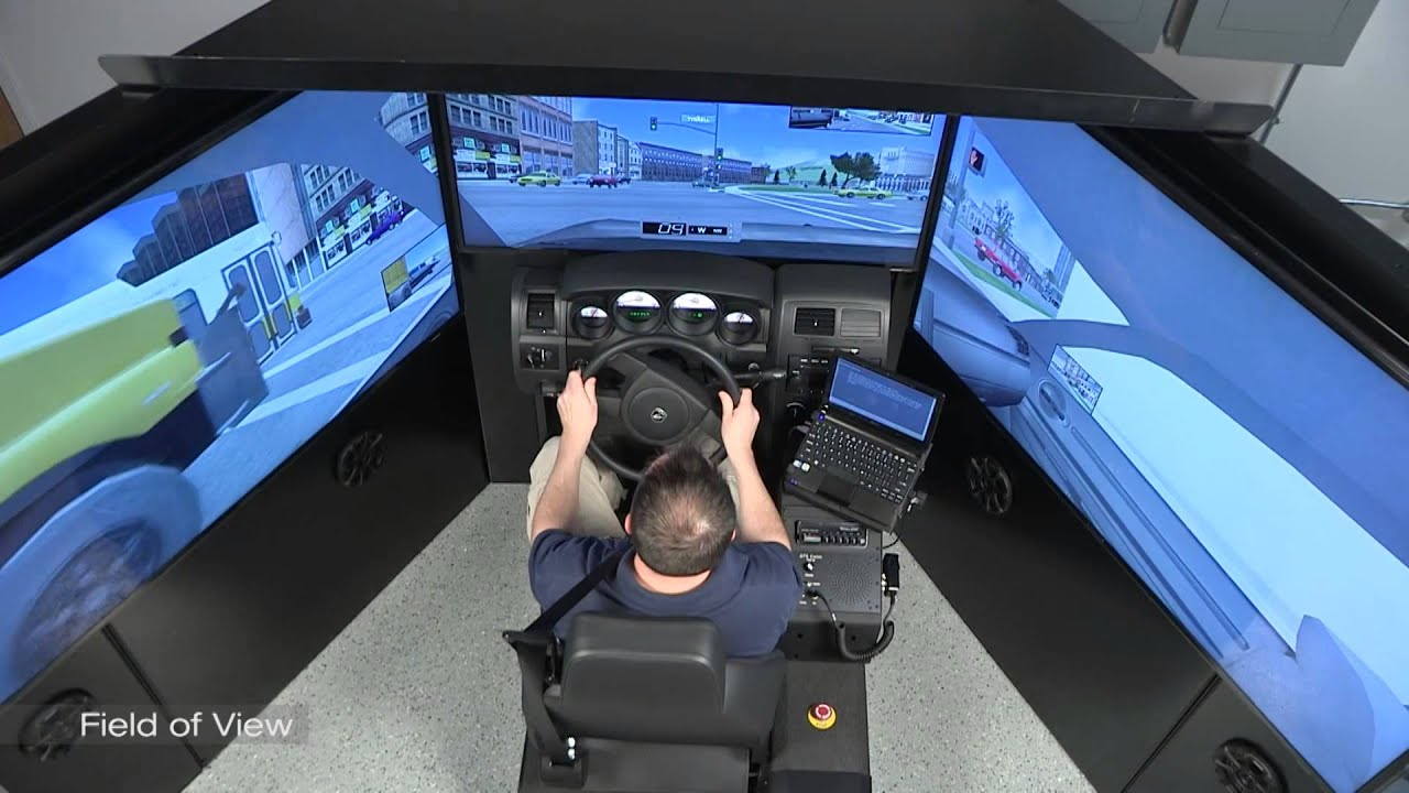 LE-1000: Law Envorcement Driving Simulator: Field of View