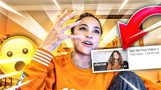 Reacting To My Comments On my First EVER VIDEO!!!!! **Not what you expect**