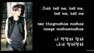 MYNAME - Just Tell Me (딱말해) LYRICS  [ENG SUBS/ROMANIZED/HANGUL]