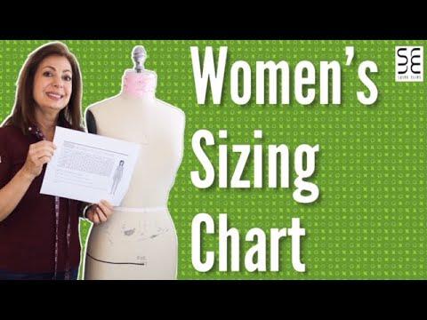 Understanding The Women's Sizing Chart!